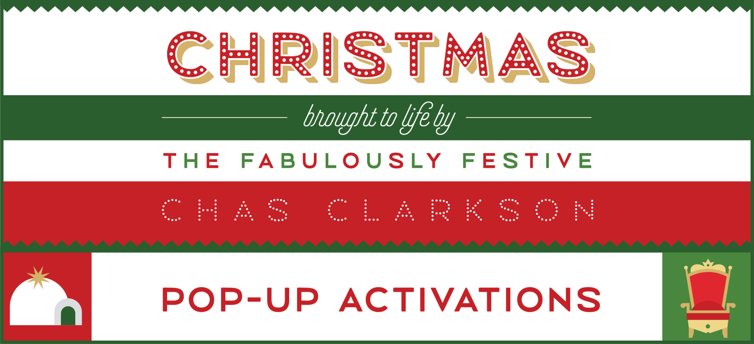 Chas Clarkson Pop Up Activations